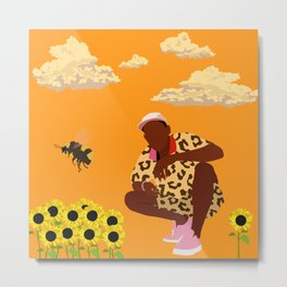 Tyler, The Creator - Flower Boy Metal Print