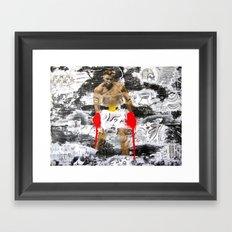 Sting Like A Bee Framed Art Print
