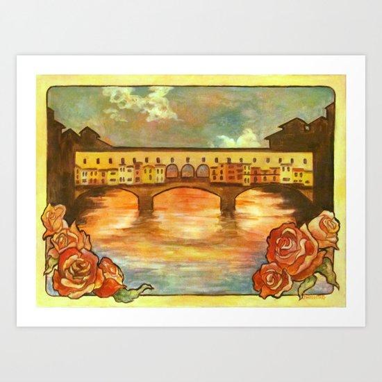 Ponte Nouveau Art Print