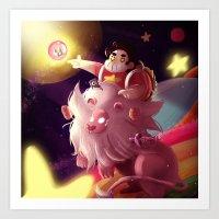 steven universe Art Prints featuring Steven Universe  by shermstan