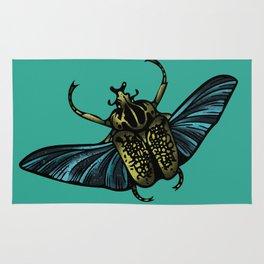 Goliath Beetle Rug
