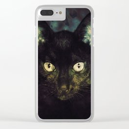 Guinevere the Cat Clear iPhone Case