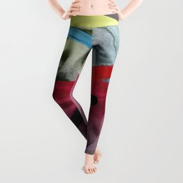 Composition on Panel 20 Leggings