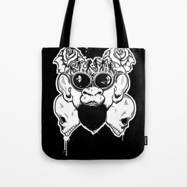 Rock Out Monkey Boy Tote Bag