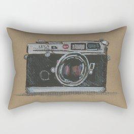 Diddie Doodle the Camera Rectangular Pillow