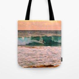 Sunset Surfer Tote Bag