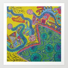 Abstract6 Art Print