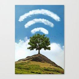 Natural Signal Canvas Print