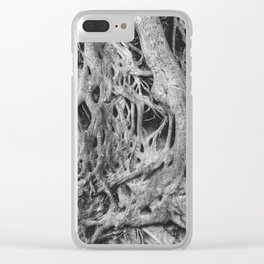 Roots of the Medusa Tree in Greenville, SC Clear iPhone Case