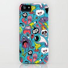 Doodled Pattern iPhone (5, 5s) Slim Case