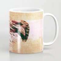 flamingo Mugs featuring Flamingo by Fernando Vieira