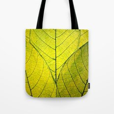 Leaves of Green Tote Bag