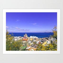 The Pearl Of The Mediterranean Sea Art Print