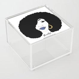 Black Girl Magic Acrylic Box