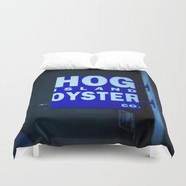 hog island oyster Duvet Cover