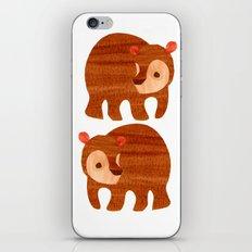 Beary cute iPhone & iPod Skin
