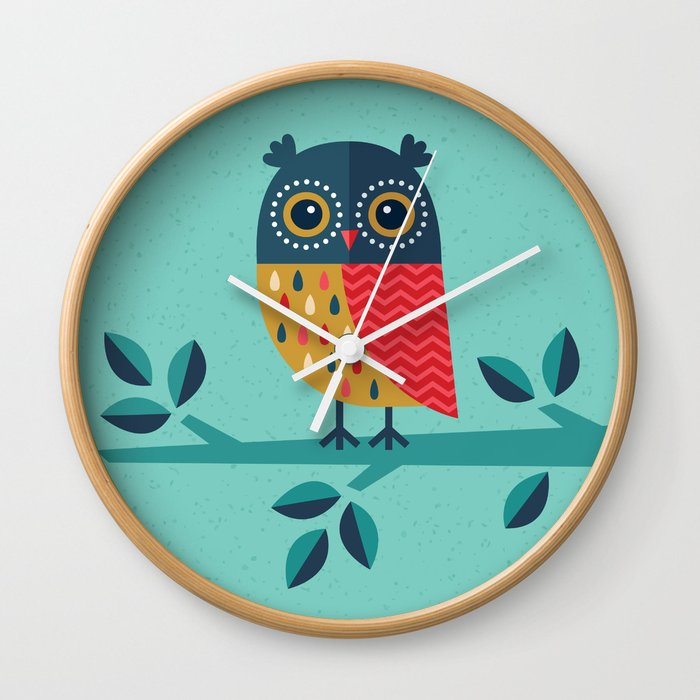 OWL ALWAYS LOVE YOU Wall Clock by daisybeatrice | Society6