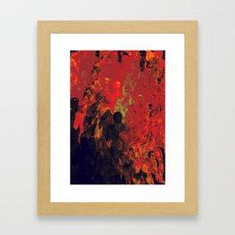 Gnarly evolution Framed Art Print