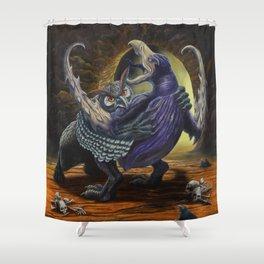 Hooks & Talons Shower Curtain