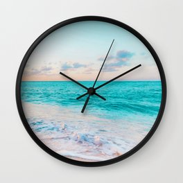 Ocean Bliss #society6 #society6artprint #buyart Wall Clock