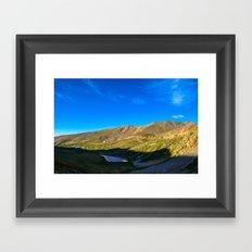 Kite Lake Sunrise Framed Art Print
