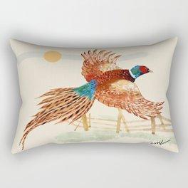 male pheasant Rectangular Pillow