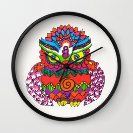 ColourfulOwl made by Surjal Wall Clock