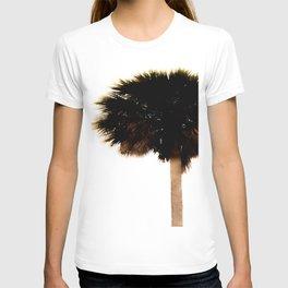 Palm Tree Minimal Print T-shirt