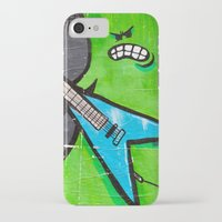 heavy metal iPhone & iPod Cases featuring Heavy Metal by Chantal Seigneurgens