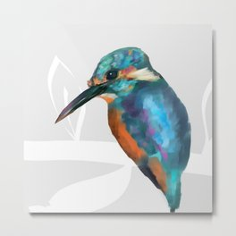 Kingfisher Art | 2018 Metal Print