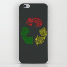 Peace, Love and Happiness iPhone & iPod Skin