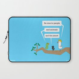 Birds of Wisdom #1 Laptop Sleeve