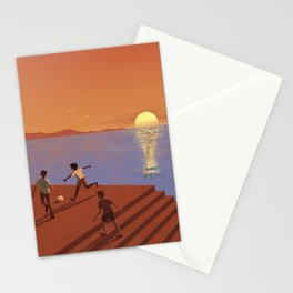 Dreaming the World Cup Stationery Cards