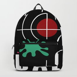 Paintball Funny Backpack