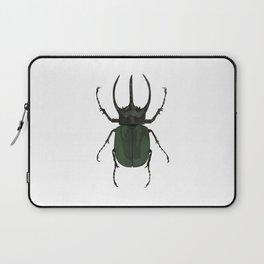 Atlas Beetle Insect Digital Watercolor Laptop Sleeve
