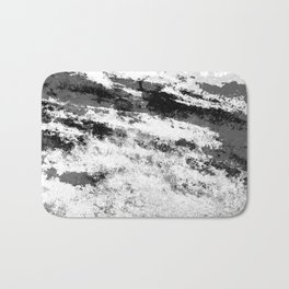 Perseverance Black & White Bath Mat