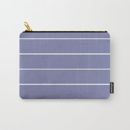 Striper in Lavender Carry-All Pouch