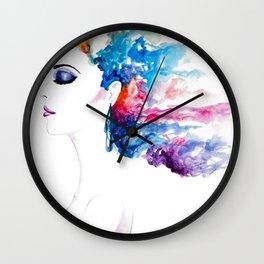 Vibrant Rush Wall Clock