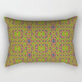 2106 Colorful carpet pattern ... Rectangular Pillow