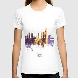 Oslo Norway Skyline T-shirt