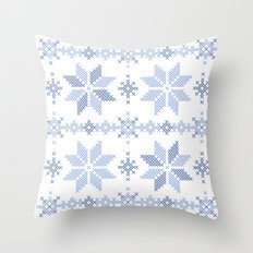 Scandi Welcome Home Throw Pillow
