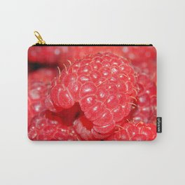 Red Raspberries Freshly Picked Carry-All Pouch