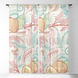 Patterns Sheer Curtain