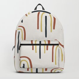 Mid Century Modern - Somewhere Over The Rainbow Backpack
