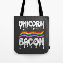 Unicorn Bacon Tote Bag