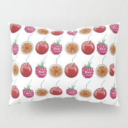 fresh fruits and cocktail rolls Pillow Sham
