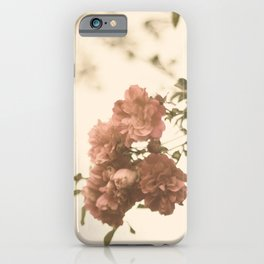 Lingering Roses iPhone Case