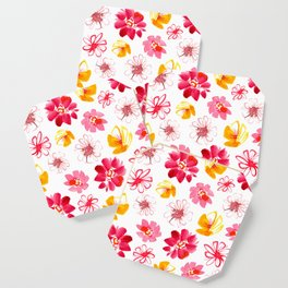 Spring Flower Medley Coaster