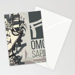 Funkey Homosapian Stationery Cards