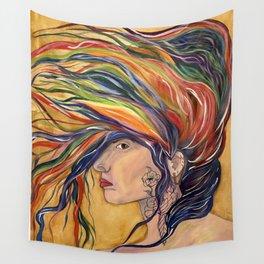Prideful Wind Wall Tapestry